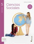 ciencias sociales 5º primaria + atlas castilla la mancha 9788468030760