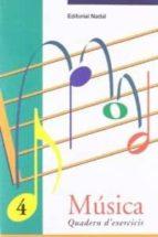 musica 4 quadern d exercicis-9788478872060