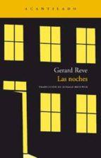 las noches gerard reve 9788492649860
