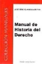 manual de historia del derecho-jose sanchez arcilla bernal-9788497723060