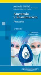 anestesia y reanimacion: protocolos-9788498353860