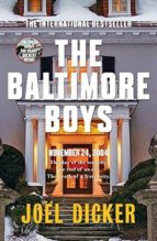 the baltimore boys joël dicker 9780857056870