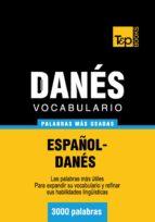 VOCABULARIO ESPAÑOL-DANÉS - 3000 PALABRAS MÁS USADAS