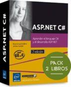 asp.net c#: pack de 2 libros: aprende el lenguaje c# y el desarrollo asp.net brice arnaud guerin 9782409005770