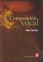composicion vocal paul barker 9786071609670