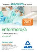 enfermero del servicio aragonés de salud. temario específico volu men 1 9788414206270