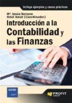 introducción a la contabilidad y las finanzas (ebook)-oriol amat-maria jesus soriano-9788415330370