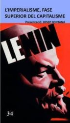 l imperialisme, fase superior del capitalisme vladimir illich lenin 9788416789870