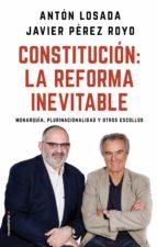 constitución: la reforma inevitable (ebook) anton losada javier perez royo 9788417541170