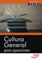 cultura general para oposiciones 9788417625870