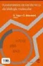 fundamentos de las tecnicas de biologia molecular d. tagu c. moussard 9788420010670