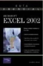 Libro en inglés para descargar gratis con audio Guia esencial excel 2002