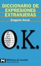 diccionario de expresiones extranjeras gregorio doval 9788420657370