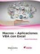 macros   aplicacions vba con excel 9788426723970
