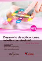 desarrollo de aplicaciones móviles con android-manuel torres remon-9788426724670