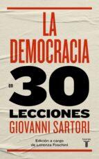 la democracia en 30 lecciones giovanni sartori 9788430606870