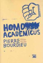 homo academicus pierre bourdieu 9788432313370