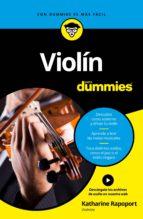 violin para dummies katharine rapoport 9788432903670