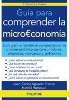 guia para comprender la microeconomia juan carlos aguado franco hamid hamoudi 9788436831870