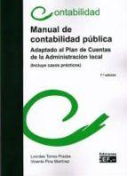manual de contabilidad pública lourdes torres 9788445428870
