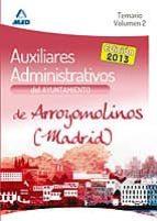 auxiliares administrativos del ayuntamiento de arroyomolinos (mad rid) temario vol ii-9788467693270