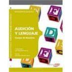 cos de mestres. audició i llenguatge. programació didàctica 9788468143170