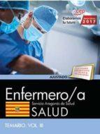 enfermero/a del servicio aragonés de salud. salud. temario. vol. iii 9788468178370