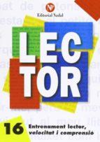 entrenament lector, velocitat i comprensió nº 16 lletra d´imprent a m.-s.-9788486545970