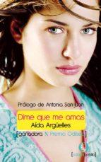 dime que me amas (ebook)-aida argüelles molinuevo-9788492609970