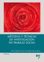 métodos y técnicas de investigación en trabajo social neus carros civera 9788494398070