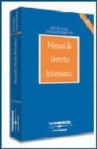 manual de derecho informatico (6ª ed.) miguel angel davara rodriguez 9788497677370