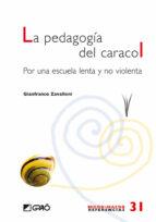 la pedagogia del caracol: por una escuela lenta y no violenta-gianfranco zavalloni-9788499800370