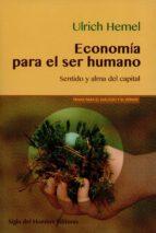 economía para el ser humano (ebook)-ulrich hemel-9789586653770