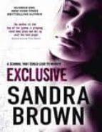 exclusive-sandra brown-9780340961780