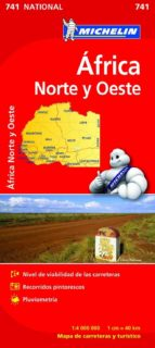 africa norte-oeste 2012 (1:4000000) (ref. 741) (mapa national)-9782067172180