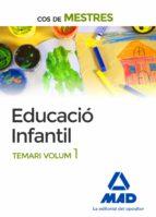 cos de mestres educació infantil. temari volum 1-9788414202180
