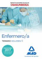 enfermero/a del servicio navarro de salud-osasunbidea: temario (vol. 4)-9788414213780