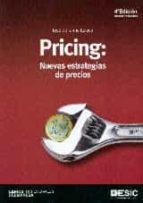 pricing: nuevas estrategias de precios (4ª ed.) jose de jaime eslava 9788415986980