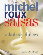 salsas: saladas y dulces-michel roux-9788417254780