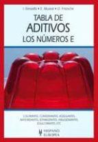 tabla de aditivos: los numeros e-ibrahim elmadfa-9788425519680