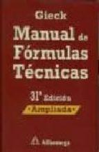 manual de formulas tecnicas (31ª ed.)-kurt gieck-reiner gieck-9788426714480