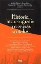 historia historiografia y ciencias sociales 9788433846280