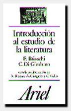 introduccion al estudio de la literatura-franco brioschi-costanzo di girolamo-9788434483880