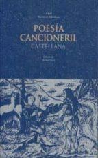 poesia cancioneril castellana 9788446002680