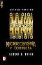microeconomia y conducta (5ª ed.)-robert frank-9788448198480
