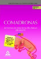 COMADRONAS DEL IB-SALUT. TEMARIO. VOLUMEN II