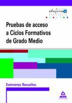 EXAMENES RESUELTOS DE PRUEBAS DE ACCESO A CICLOS FORMATIVOS DE GR ADO MEDIO: ANDALUCIA