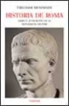historia de roma (libro v): fundacion de la monarquia militar theodor mommsen 9788475066080