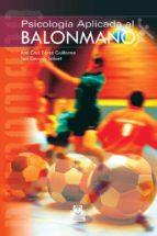 psicologia aplicada al balonmano ana cruz perez 9788480199780