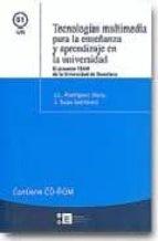 tecnologias multimedia para la enseñanza y aprendizaje en la univ ersidad: el proyecto team de la universidad de barcelona (contiene cd-rom)-j.l. (ed.) rodriguez illera-j. (ed.) suau-9788483383780